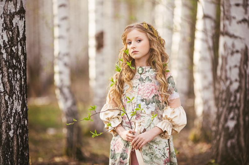 Фотосессия в лесу весной идеи фото