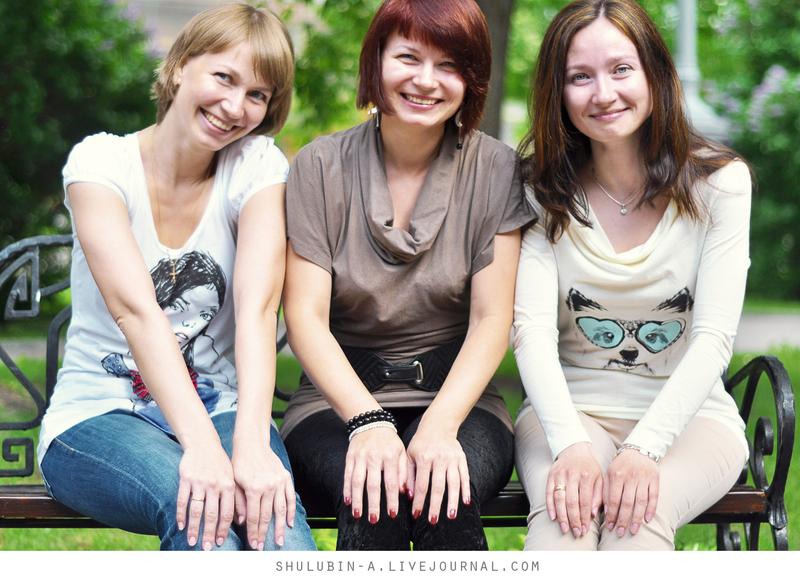 Прекрасные девушки, закадычные подруги, замечательные мамы. Рассказ о