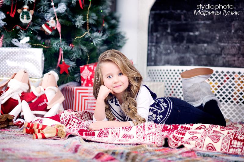 детская одежда для новогодней фотосессии