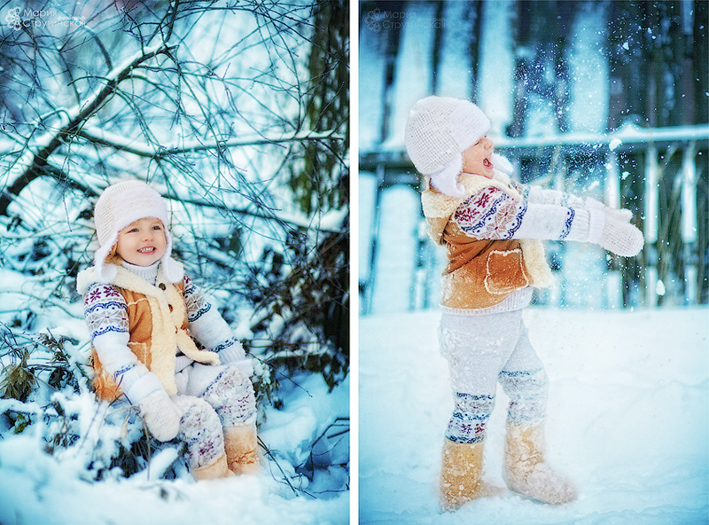 Идеи зимних детей
