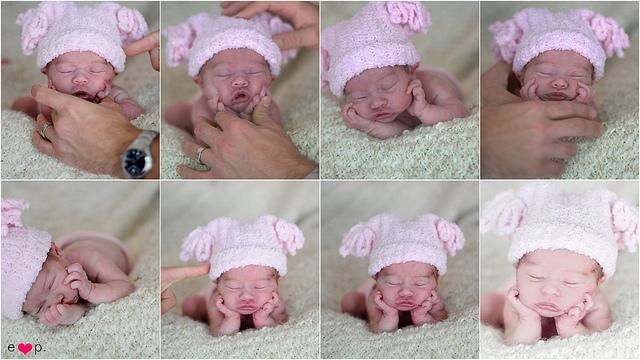 Как красиво сфотографировать новорожденного дома фото