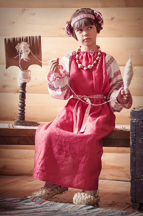 Одежда Крестьянских Детей