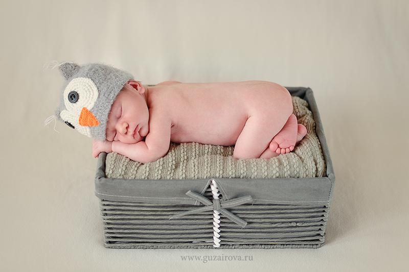 Ящик для фото новорожденного