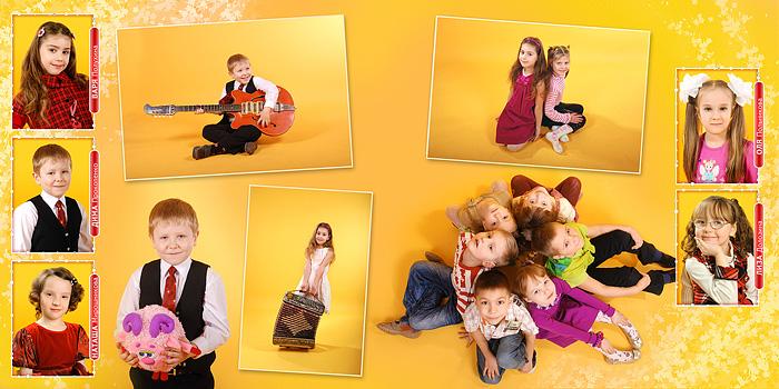 Фотосессия для детских садов