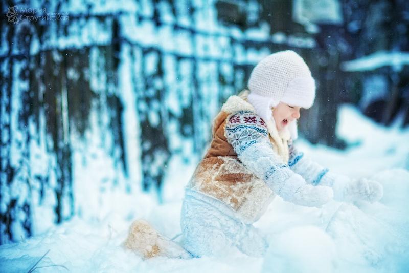 Как сделать красивое фото на снегу