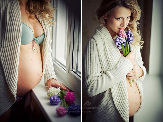 Как себя сфотографировать беременную 60