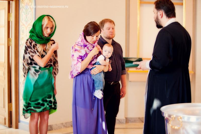 Как одеть ребенка на крещение